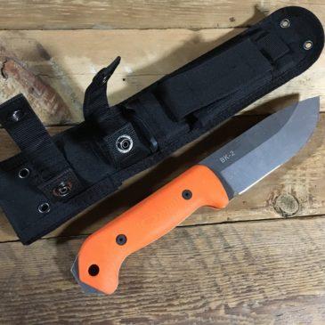野営・ブッシュクラフト用のナイフ
